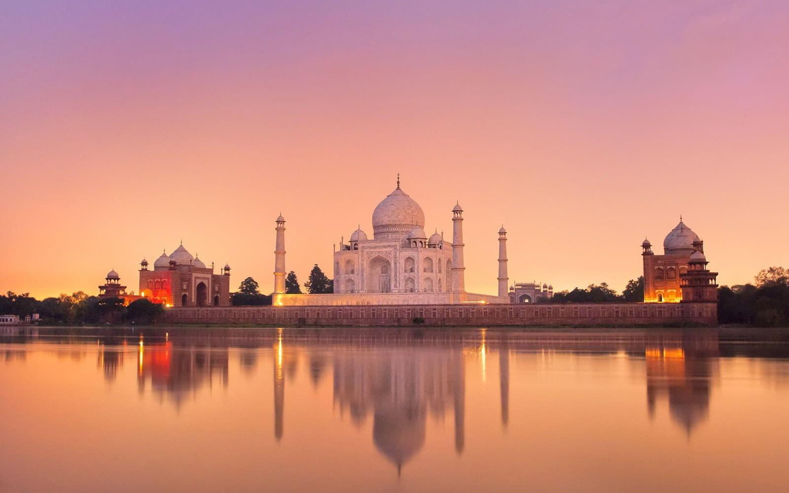 India Προορισμοί για ζευγάρια Ταζ Μαχάλ loveyourholidays