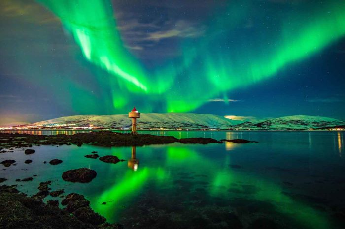 Πρωτοχρονιά στο Βόρειο Σέλας στη Νορβηγία