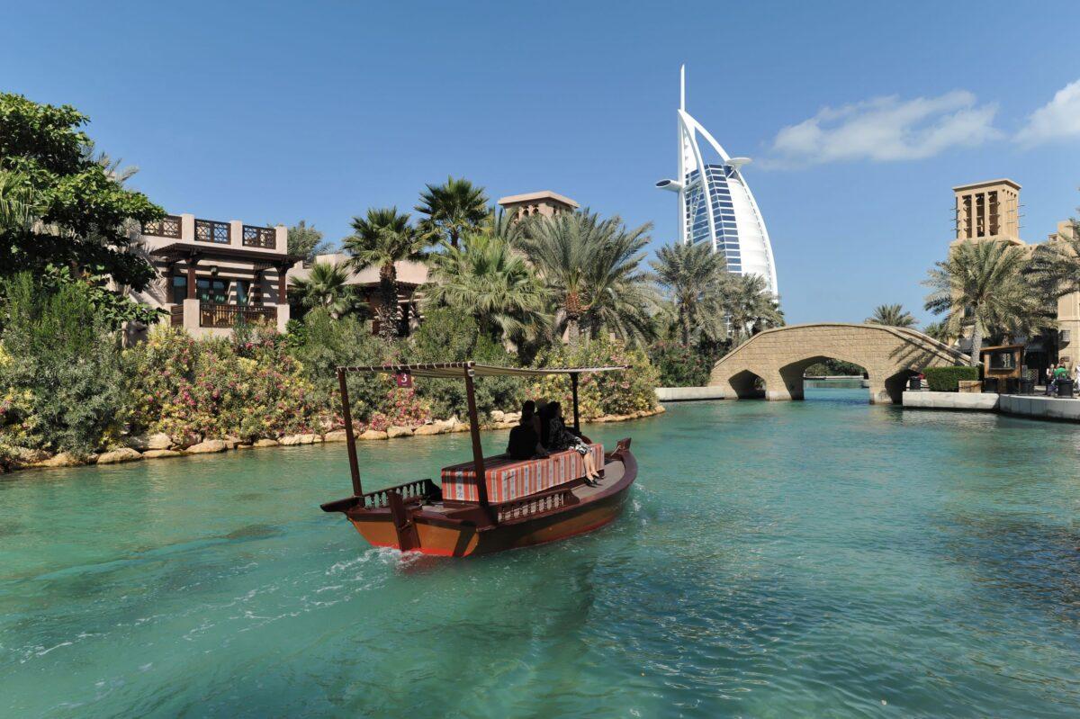 Διακοπες στο Nτουμπάι Burj al Arab - μαντινατ τζουμέιρα- βαρκαδα