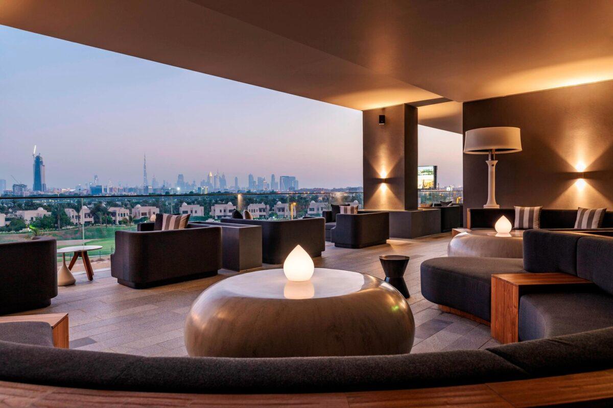 Ξενοδοχεία Ντουμπάι-Aloft smoking Lounge