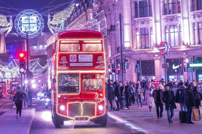 Εορταστικό Λονδίνο Premium, 5 Ημέρες
