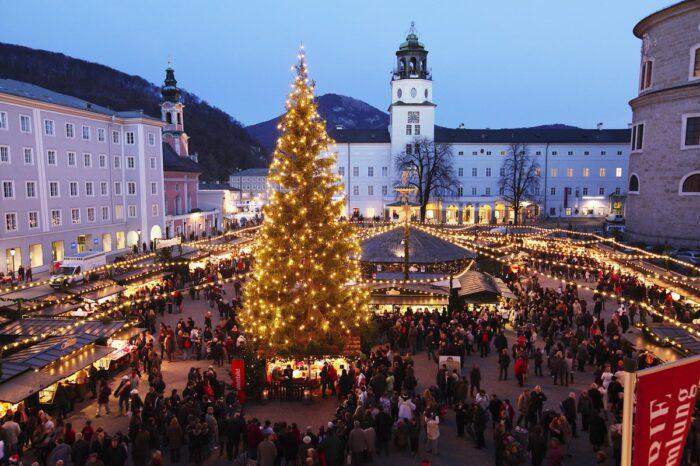 Χριστούγεννα στο παραμυθένιο  Σάλτσμπουργκ,  και στην  Βιέννη, 5 ημέρες